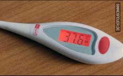 Fieber messen gegen ein TG (Kein Sex)