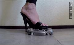 Schöne Füße mit Power