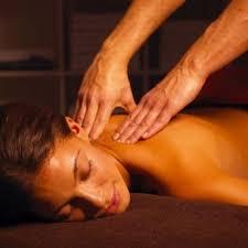 Erotische Massage